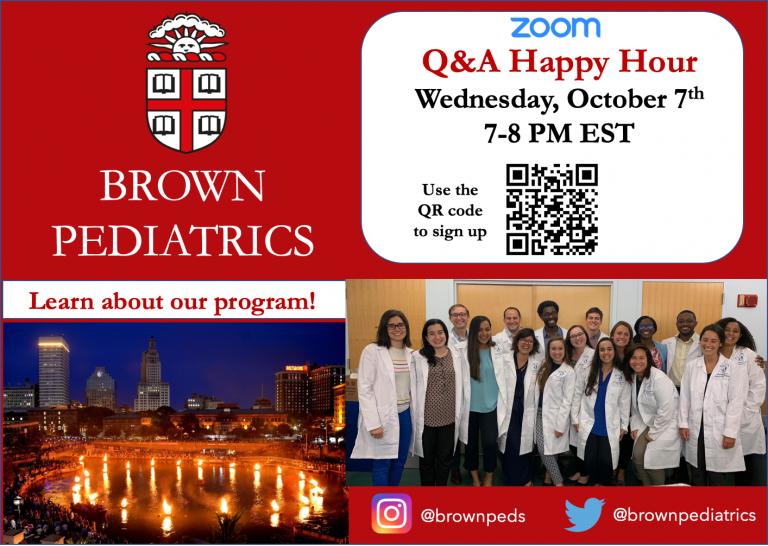 Brown Pediatrics Happy Hour 2